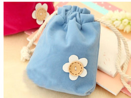 Wholesale European Style Dresses Women - Free shipping-2017 candy color flower coin purses wallets holders