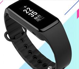 Wholesale Message For Bracelets Men - Fashion Bracelet Smart Bracelet Heart Rate Bluetooth Pedometer Apple Android Men and Women Waterproof Sports Watch Blood Oxygen Test B4
