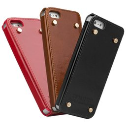 Wholesale Case Cover For Apple Iphone5 - P01 Good Quality Rivet Phone Case for Apple iPhone5 5S SE Case Back Cover