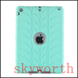 Wholesale Ipad 3in1 - 3in1 Defender shockproof Case military Extreme Heavy Duty PC + silicone cover for ipad pro 9.7 iPad air mini 2 3 4 5