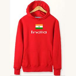 Jacken indien online-Indien Flagge Hoodies Nation neuesten Stil Sweat Shirts Land Fleece Kleidung Pullover Sweatshirts Outdoor Sport Mantel Brushed Jacken