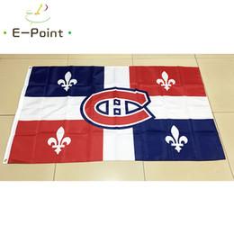 Montreal Canadians National Hockey League (NHL) 3 5ft (90cm 150cm) Polyester  flag Banner American decoration flying home   garden flag. Supplier   huyongkui 110339fd1