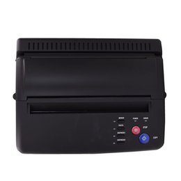 Wholesale Tattoo Stencil Copier Machines - Wholesale- DHL Free shipping Professional Tattoo Thermal Stencil Paper Maker Transfer Copier Machine with temporary tattoo sticker