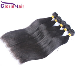 Wholesale Wholesales Remi Hair - Decent Quality Soft Eurasian Hair Weaves Silky Straight Unprocessed European Remi Human Hair Extensions 3pcs Cloris Hair