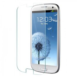 Wholesale S3 Ultrathin - 20pcs lot 0.3mm Ultrathin Premium Tempered Glass Film For Samsung Galaxy S3 SIII i9300 Screen Protector Protective Cover Film