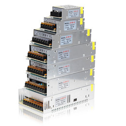 Wholesale 12v 25a - 1PC 12V LED Power Supply Transformer Adaptor Converter at 2A 3A 5A 8.3A 10A 12.5A 15A 20A 25A 30A 24W-360W for strip modules string neon bar