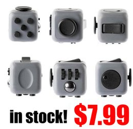 Wholesale dropship best - Wholesale- In stock! FASTSHIPPING! Fidget Cube Toys for Girl Boys Christmas Gift The First Batch of The Sale Best Dropship and wholesale