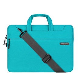 Wholesale Macbook Messenger - Unisex Laptop Sleeve Messenger Shoulder Bag for 11 12 13 15Inch Notebook   MacBook   Ultrabook   Chromebook Computers