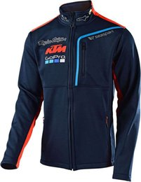 Wholesale GP PRO ktm Moto GP Motocross Sweatshirts Outdoor sports hoodies motorcycle racing jackets Navy With zipper
