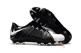 Wholesale Mens Boots 39 - New Cheap Low Ankle Hypervenom Phantom III FG Soccer Cleats Boots Hypervenoms ACC Mens Football Boots Soccer Shoes Size 39-45