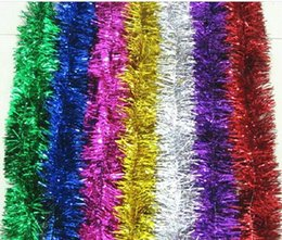Wholesale Flower Arrangement Supplies - 2017 new Christmas decorations wedding supplies festive kindergarten arrangement of the top of the bar flower color color band with madder