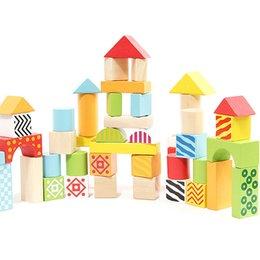 Wholesale Education Kinds - 50 kinds of wooden toys, barrels, blocks, children's early education, puzzle, wooden science and education toys, pattern blocks, drums
