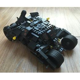 Wholesale Batman Batwing - DECOOL Batman Tumbler 7105 Batmobile Batwing Super Heroes DC Building Blocks Toys For Children Birthday Gift