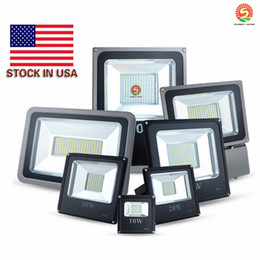 Wholesale Stock In US Led Floodlight V W W W W W W Landscape Led Outdoor Flood Light Waterproof led lamps CE UL