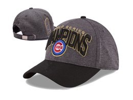 Wholesale Wholesale Sport Patches - 2016 Cubs Champions World Series Patch Hat Snapback Caps Adjustable Cap Sport Hats Snap Back Baseball Cap 39Fifty Snapbacks For Men Women