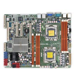 Wholesale Asus 1366 Motherboard - Z8NA-D6 Original Used Server Desktop Motherboard 5500 Socket LGA 1366 i7 DDR3 32 48G SATA2 ATX