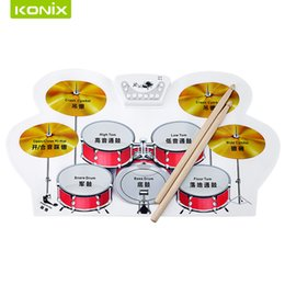 Wholesale Musical Instruments Electronic Drums - Wholesale- kids musical instruments, music toy, drums electronic