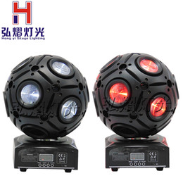 Wholesale Night Club Products - Wholesale- 2017 2pcs Lot new products 9x10W CREE RGBW 4in1 led football moving head beam light for night club