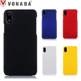 Wholesale Iphone Hard Matte Rubber - Vonada PC Hard Case for Apple iPhone X Froste Matte Slim Plastic Shell Rubber Hard Phone Case Cover