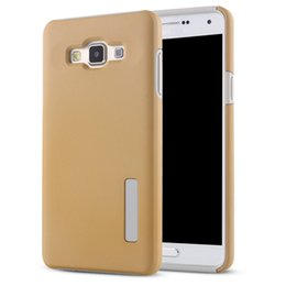 Wholesale Galaxy Duos Cases - Dual Shockproof Armor Hybrid Rugged TPU+PC Hard Back Cover Duo case For Samsung Galaxy A3 A5 A7 A8 A310 A510 A710 G530 G360