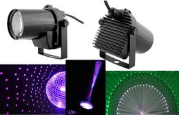 Wholesale Led Disco Spot - Wholesale-2015 Cheaper DJ LIGHTING 5W CREE LED Pinspot DJ Spot Beam Laser Projector Light Stage Party Bar Effect for Disco Free Shipping