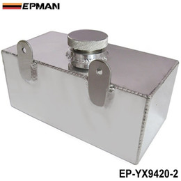 Wholesale High Performance Alloy - EPMAN Universal High-performance Aluminium alloy Mirror polished windscreen washer bottle intercooler spray tank 2 litre EP-YX9420-2