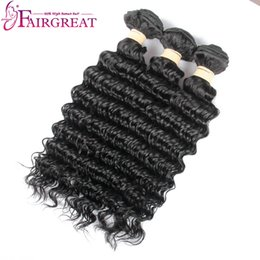 Wholesale Longest Weave Hair - Long Life Human Hair Deep Wave Brazilian Virgin Hair Can Be Iron Properly, Dyed, Bleached, NO Dry, No Tangle After Installment