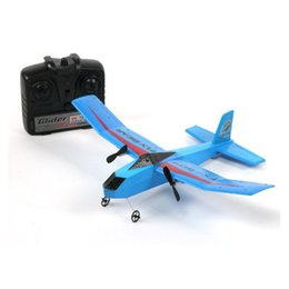 Wholesale Rc Glider Rtf - Wholesale- Fly Bear FX-802 FX-805 FX-807 2.4G 2CH 310mm EPP RC Professional Glider Airplane RTF Double Propeller Ready-to-fly