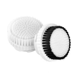 Wholesale Electric Brush For Face - Wash Face Brush Head for KM-6066 Electric Facial Pore Cleanin Machine Replacement Brush Head 2PCS SET