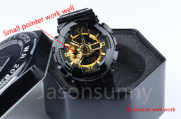 Wholesale Men S Watches G Shock - top quality relogio G Sports GA110 Watches LED Waterproof Climbing Digital S Shock Men 100 Watch All Pointer Work Original Box