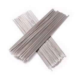 Wholesale Needle Skewer - Wholesale- 100pcs Stainless Steel Barbecue Grilling BBQ Needles Sticks Skewers (Silver)