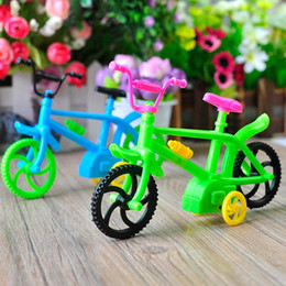 Wholesale Pull Back Motorcycle Toy - 2017 new Pull back bike children model toy plastic bike traffic small model material plastic free shipping