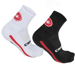 Wholesale Racing Bicycles Brands - New Brands Unisex black Cycling Socks High elasticity elastic road bike bicycle durable breathable socks
