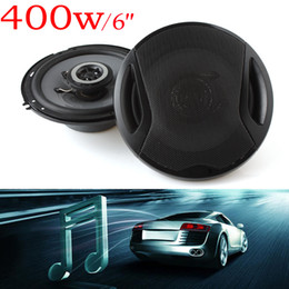 Wholesale Inches Door - Universal 6 inch 400W Max 4ohm Car Coaxial Auto Audio Music Stereo Speakers 2 Way for Vehicle Door SubWoofer AUP_40Y