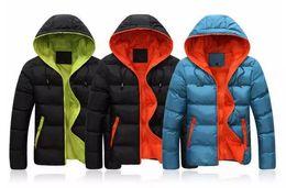 Wholesale Mens Winter Down Coats Sale - new fashion Winter men jackets jacket warm coat Mens Coat Brand Sport Jacket Winter Down Parkas Man's Overcoat Size M-3XL Wholesale sales