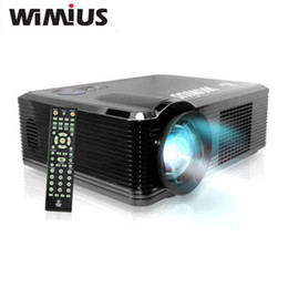 Wholesale Video Game Education - Wholesale-Wimius Full HD 1920*1080 Multimedia Projector 2000 Lumens Beamer Digital LED LCD Projetor Proyector For Home Cinema Video Game