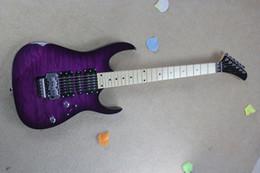 Chitarre viola online-spedizione gratuita Nuovo arrivo 2017 chitarra kramer 5150 serie ARI tremolo viola chitarra elettrica