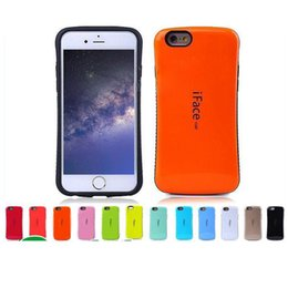 Wholesale Apple Iphone Colors - Iface Mall Case For Iphone X Cases For Galaxy Note 8 S8 PLUS Shock Proof Hybrid Candy Colors Cases Opp package