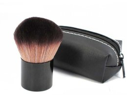 Wholesale Brand Name Make Up - Professional #182 Rouge Kabuki Blusher Blush Brush Makeup Foundation Face Powder Make Up Brushes Set Cosmetic Tools Kit with M Brand Name