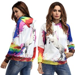 Wholesale Xl Gril - Fashion Casual Women's Sweatshirt Long Sleeve Hooded Lady's Tops for Spring Autumn Clothes Sprot Hoodies Prints Pullover Young Gril Tops