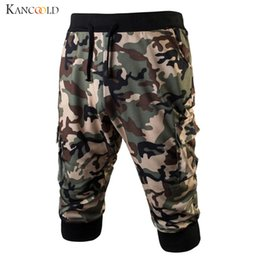 3bdd3b5c3ec Wholesale- Trendy Men s Pants Camouflage Baggy Fashion Pockets Cargo Casual Pant  Boy Calf-Length Male Trousers Size M-XXXL Mayy12 boys fashion capris ...