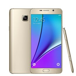 "Wholesale Unlocked Cell Phone Gsm - Samsung Galaxy Note 5 N920A T P Sprint Version Original Unlocked 4G LTE GSM Android Cell Phone Octa Core 5.7"" 16MP RAM 4GB ROM 32GB"