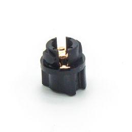 "Wholesale Dash Instruments - T5 Twist Lock Socket Wedge Base 3 8"" Socket Dashboard Instrument Panel Cluster Plug car Lamp Dash Light Bulb 37 74 73 Socket"
