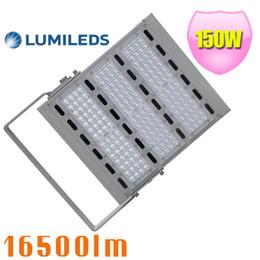 Wholesale Metal Flood Lights - 500W Metal halide replacement 150W Led Tunnel light retrofit SMD3030 led flood light 5 years warranty