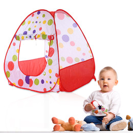 Wholesale Outdoor Indoor Games For Kids - Baby Play Tent Child Kids Indoor Outdoor Tents House Large Portable Ocean Balls Great Gift games Playhouse Toys For Children