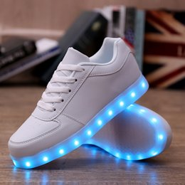 Wholesale Hot New Com - new arrival Lovers tenis led light up shoes Lovers tenis com led light up hot for adults men shoes