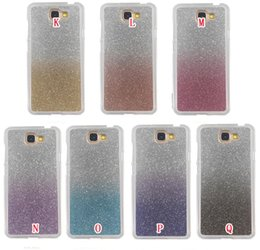 Wholesale rainbow silicone case - Bling Glitter Soft TPU Case For Samsung J2 J5 J7 Prime 2017 A5 A7 A3 J3 Sony Xperia XA Ultra Huawei Y5 II Rainbow Gradient Shiny Phone Cover