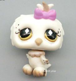 Wholesale Lps Cute - Toys Hobbies Action Toy Figures Original LPS cute toys Lovely Pet shop animal White OWL action figure doll