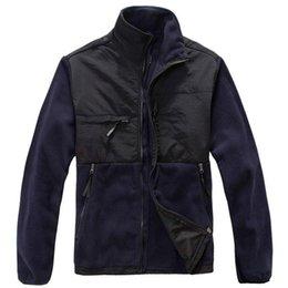 Wholesale Heated Fleece Jacket - Wholesale- Free Shipping Waterproof Wind Heat Technology Fleece Jacket Men's Warm Jacket Men's Jacket