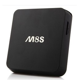 Wholesale Quad Band Wifi Dual - M8S Android TV Box Amlogic S812 Quad Core Media Player 2GB 8GB support Dual band WiFi Google Player Smart IPTV OTH113